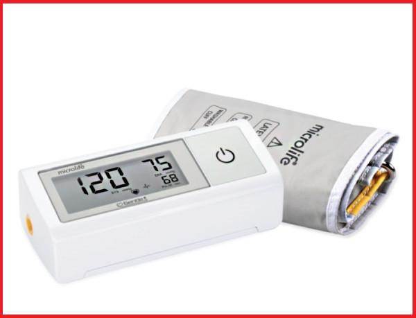 Автоматический тонометр с адаптером  Microlife BP А1 Easy, Швейцария манжет 22-42