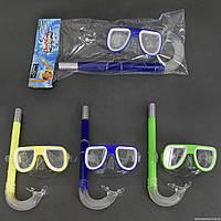Набор для плавания 0105 (192/2) маска с трубкой, 3 цвета