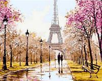 """Картина по номерам """"Ранняя весна. Париж"""" набор для Рисования"""