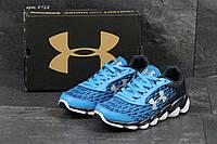 Кроссовки в стиле Under Armour Spain (синие с белым) кроссовки андер армор 4728