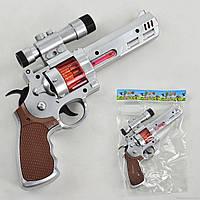 Пистолет 3888-4 (156/2) музыкальный, на батарейке, в кульке