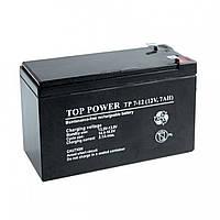 Акумулятор 12В 7а / год. для охоронних та пожежних сигналізацій