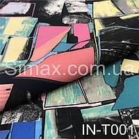 Креп Костюмная ткань Барби IN-T001