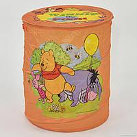 Корзина для игрушек А 01065-1 (50) оранжева, в кульке
