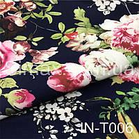 Креп Костюмная ткань Барби IN-T006