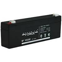 Акумулятор 12v 2,2 Ач для охоронних та пожежних сигналізацій