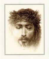 """PN-0145795 Набор для вышивки крестом Vervaco """"Иисус"""""""