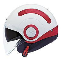 "Шлем Nexx SX.10 white\red  ""L"", арт. 01SX104002, фото 1"