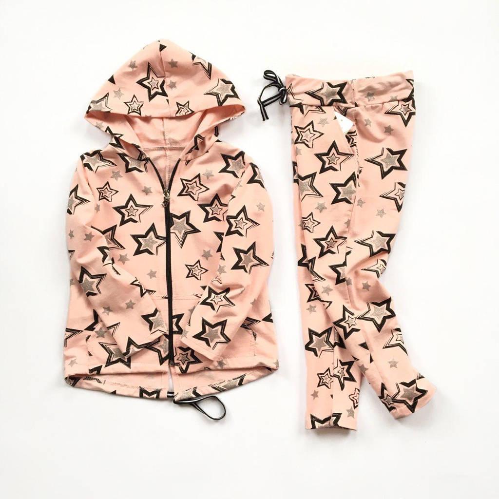 Стильный повседневный костюм для девочки Италия размеры 4-14