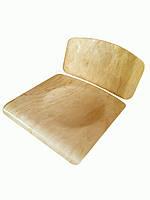 Фанера для школьных стульев. Ремкомплект  (спинка + сиденье)