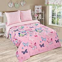 Постельное белье в детскую кроватку Батерфляй (поплин)
