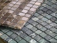 Укладка мозаики с натурального камня
