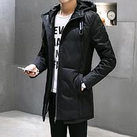 Стильная мужская куртка-пуховик. Модель 61634, фото 1