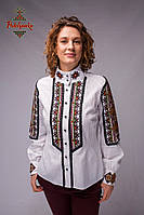 Жіноча вишита сорочка Карпати зі стійкою, фото 1