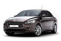 Усилитель бампера переднего на Пежо 301(Peugeot 301) 2013-2017