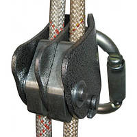 Зажим страховочный под две верёвки «Капля Дубль» AL Krok 03120