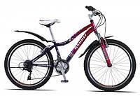 Велосипед Winner Candy 24 фиолетово-малиновый