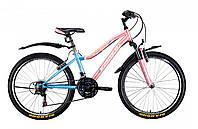 Велосипед Winner Candy 24 сине-розовый