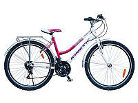 "Велосипед Kinetic Magnolia 17"" бело-розовый"