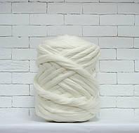 Пряжа для крупного вязания БЕЛЫЙ