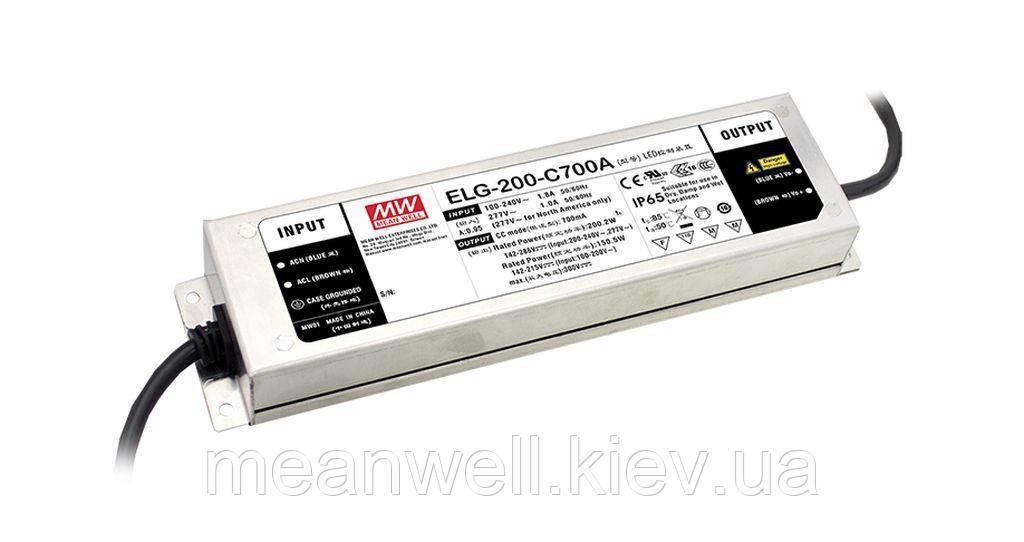 LED драйвер DALI Mean Well ELG-200-C700DA