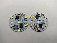 Матрица 6 LED 2835; 5 Вт; 220 В белый (холодный, теплый)
