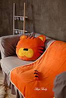 """Плед з подушкою (для дітей), комплект """"Тигреня"""". Розмір S, фото 1"""