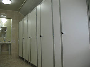 """Туалетные перегородки """"Эконом"""", изготовление и установка"""