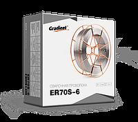 Сварочная полированная проволока ER70S-6 1,2 мм на 15 кг катушках