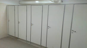 """Туалетные перегородки """"Элит"""" 25мм, изготовление и установка"""