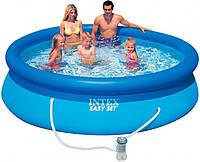 Семейный бассейн Intex 28122 Easy Set Pool 305x76 см. с фильтр - насосом
