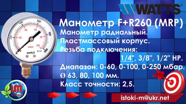 контрольно-измерительные приборы watts