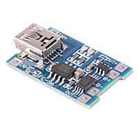 TP4056 с защитой модуль заряда Li-ion аккумуляторов, MiniUSB