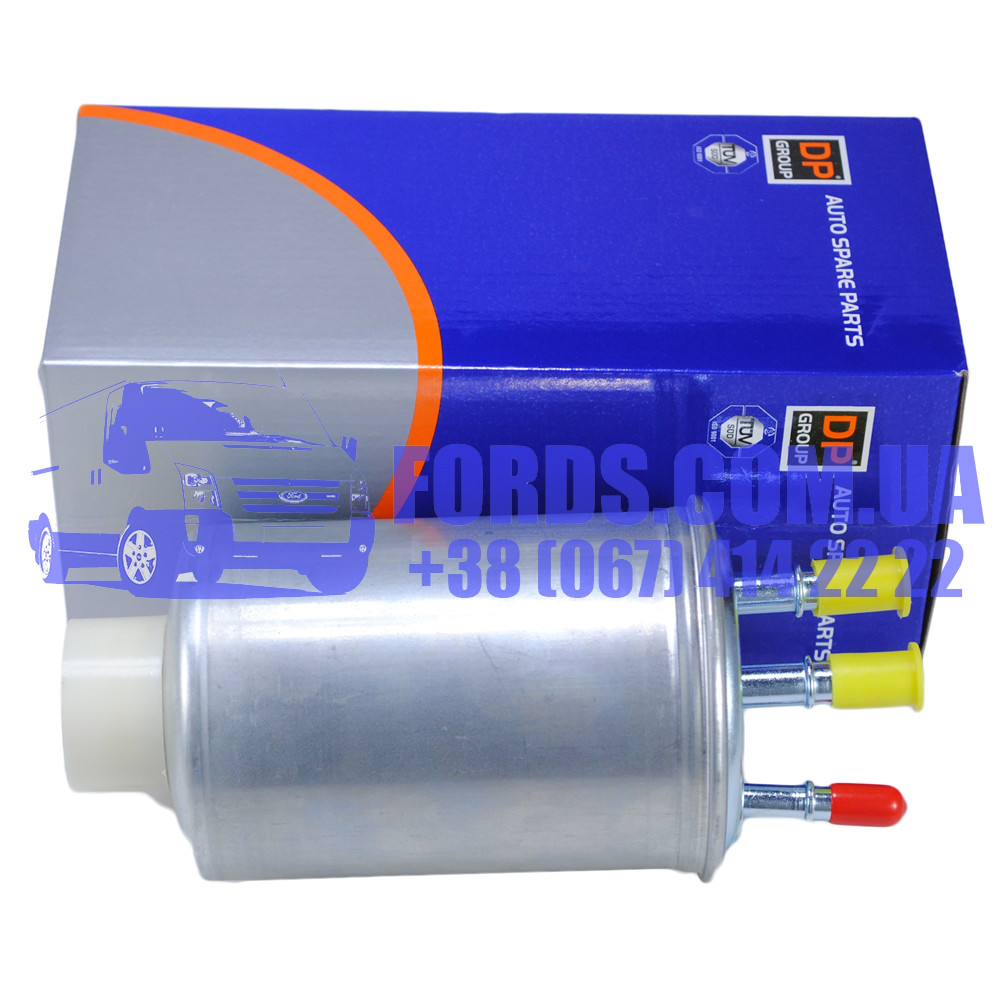 Фильтр топливный FORD CONNECT 2002-2013 (Без датчика 90PS) (1480495/2T149155BD/ES8622) DP GROUP