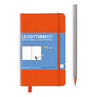 Блокнот Leuchtturm1917 Карманный Оранжевый (9х15 см) (344992), фото 1