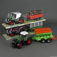УЦЕНКА Трактор 7033-5-7033-7-7033-8 (6) 3 вида, инерция, в слюде (ПОВРЕЖДЁН)