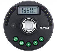 """Цифровой динамометрический адаптор и шкала доворотная 1/2"""" 6.8-135Нм DTA-135A TOPTUL"""