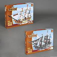 "AUSINI 27903-4 ""Пиратский корабль"" (6) 714 дет, 2 вида, в коробке"