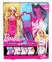 Кукла Барби Арт Студия дизайна одежды - Блондинка Barbie Fashion Design Plates Doll, фото 2