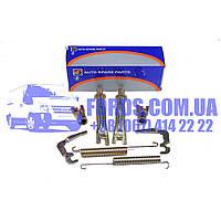 Монтажный комплект барабанных колодок FORD TRANSIT 2000- (FWD) (4540754/YC152K286AC/BS2129) DP GROUP