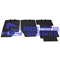 Коврики резиновые комплект FORD TRANSIT CONNECT 2002-2013 (4ШТ) (T122053/2T1413010A1A/BP8113) DP GROUP