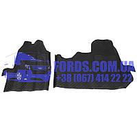 Коврики резиновые FORD TRANSIT 2006- (2ШТ) (YC1JA13010FSI/YC1JA13010FSI/BP2218) DP GROUP