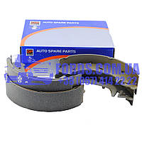 Колодки тормозные задние FORD TRANSIT 1994-2000 (280X65 T15) (1570221/ME94VX2200BB/BS1310) DP GROUP, фото 1