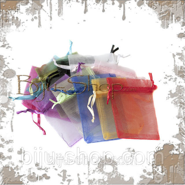 Упаковочные мешочки. Органза. 15х20 см