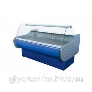 Холодильная витрина Айстермо ВХСК ЕВРОПА 2.0 Д (0...+8°С, 2000х1160х1200 мм, гнутое стекло), фото 2
