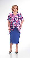 Платье большого размера Novella Sharm-2765 белорусский трикотаж