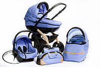 Детская коляска универсальная 2 в 1 DPG Carmelo 4 голубой