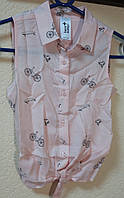 Рубашка детская для девочки размер 122-128; 134-140; 146-152