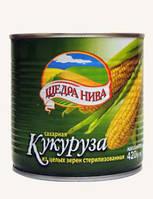 ТМ Щедра нива Кукуруза 420 г, ж/б 12 шт/уп