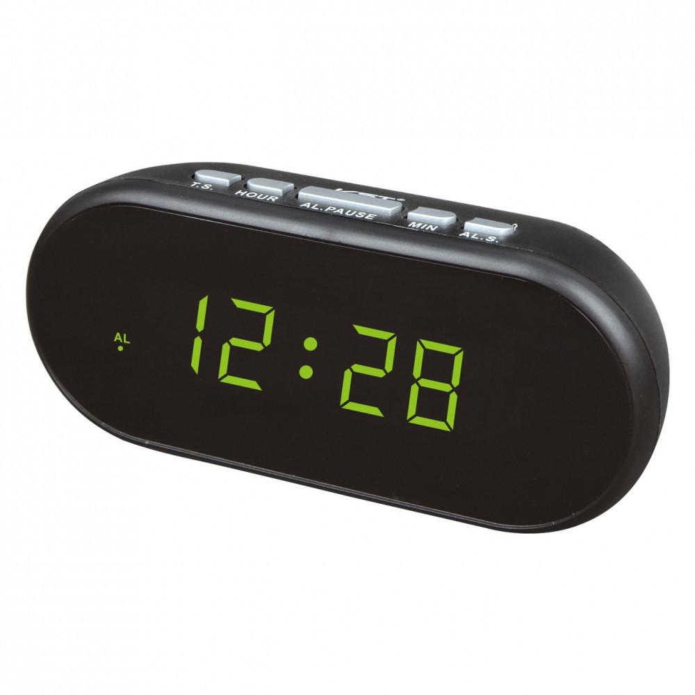 Настольные электронные часы сетевые VST-712-2 (зелёные цифры), цена ... a69b0ab3fd9